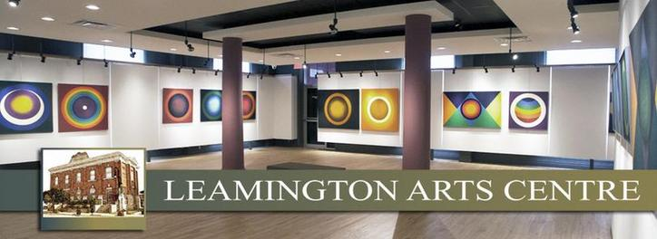 Interior photo of Leamington Arts Centre