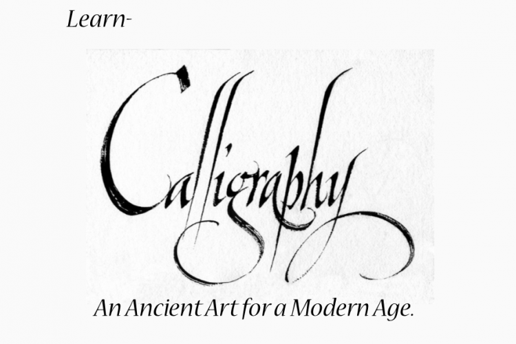 Calligraphy with Peter Olsen